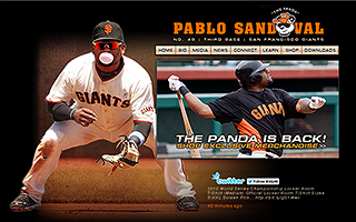 Pablo Sandoval Official Website